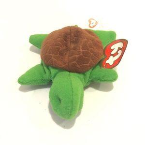 Ty Teenie Beanie Baby Speedy The Turtle